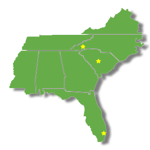 South East Locations